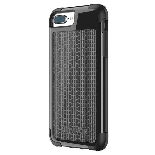 Griffin Survivor Fit Apple iPhone 7 Plus/8 Plus Black/Black