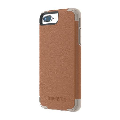 Griffin Survivor Prime Leather Apple iPhone 6 Plus/6S Plus//7 Plus/8 Plus Brown TA43864