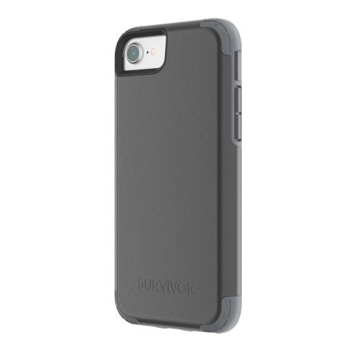 Griffin Survivor Prime Leather Apple iPhone 6/6S/7/8 Black TA43863
