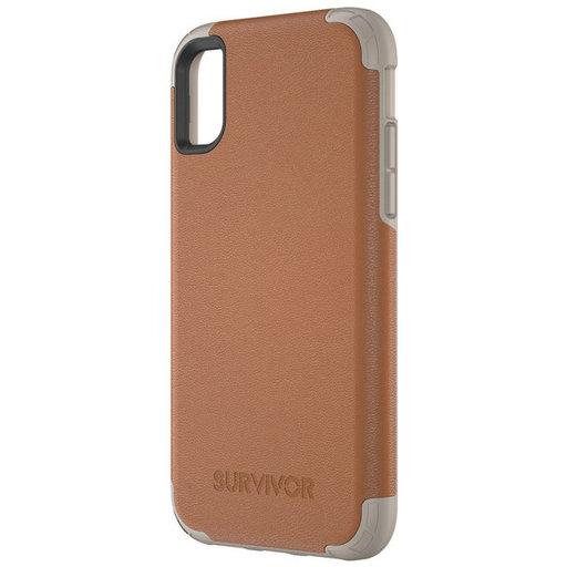 Griffin Survivor Prime Leather Apple iPhone X/XS Brown TA43866