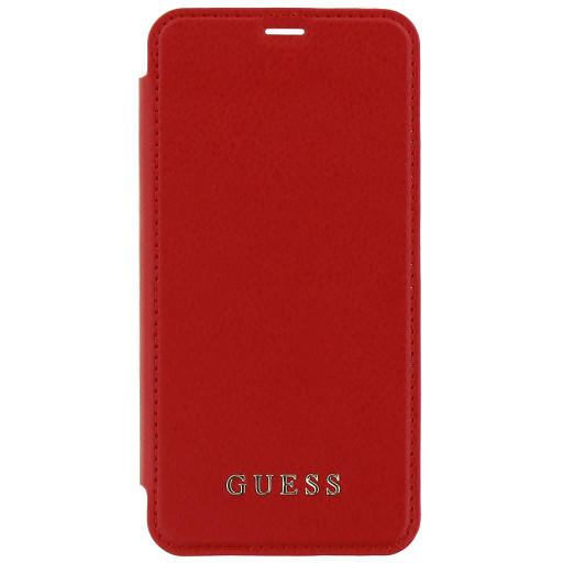 Guess Iridescent Book Case Apple iPhone X/XS Red GUFLBKPXIGLTRE